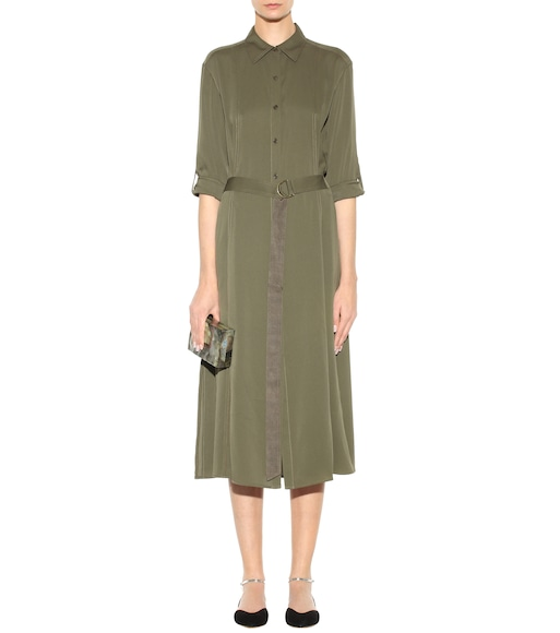 Diane von Furstenberg - Clarise stretch-silk dress - mytheresa.com