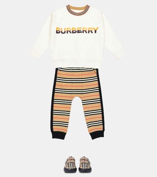 Burberry Kids - Logo cotton sweatshirt - mytheresa.com