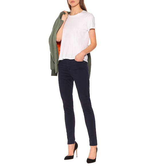 AG Jeans - High-Rise Skinny Jeans The Farrah Ankle - mytheresa.com