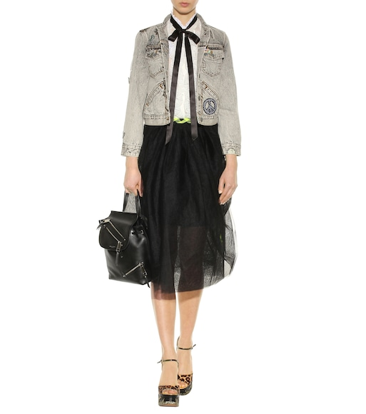 Marc Jacobs - Ruffled cotton blouse - mytheresa.com