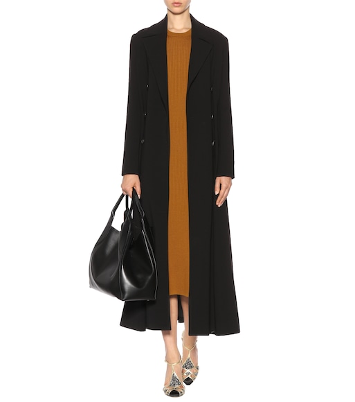 Victoria Beckham - Ribbed virgin wool dress - mytheresa.com