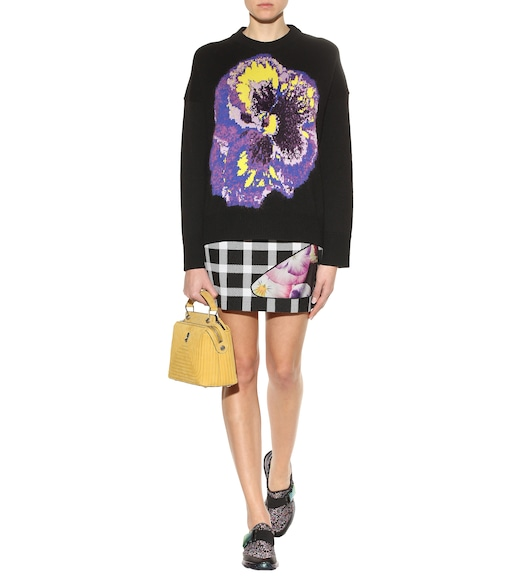 Christopher Kane - Wool-blend sweater - mytheresa.com