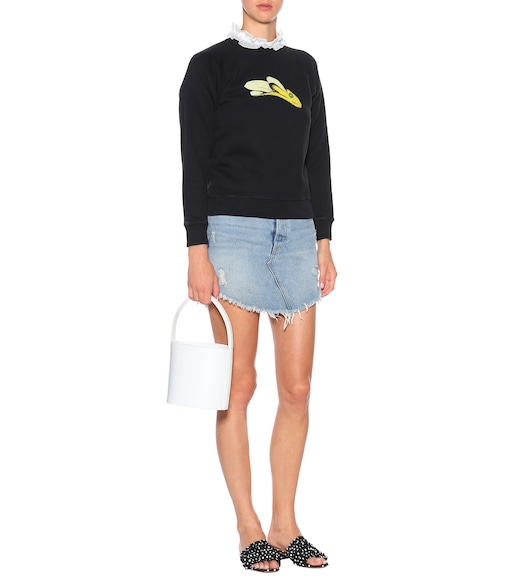 AlexaChung - Printed cotton sweatshirt - mytheresa.com