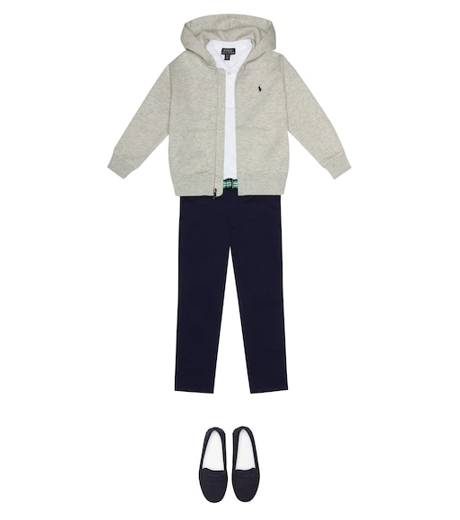 Polo Ralph Lauren Kids - Pantaloni Newport in cotone stretch - mytheresa.com
