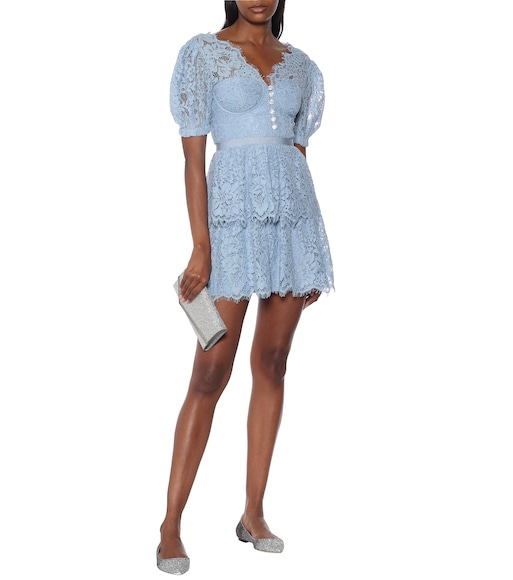 Self-Portrait - Lace minidress - mytheresa.com