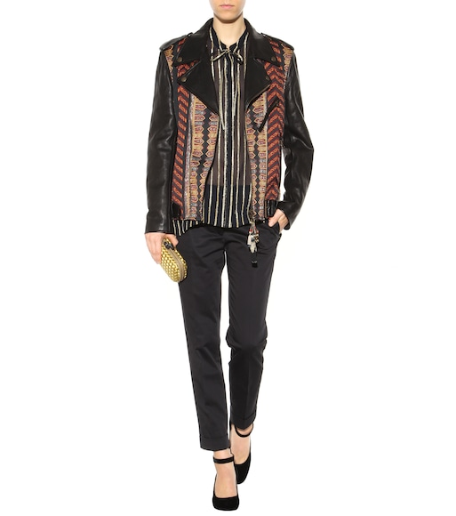 Etro - Striped silk shirt - mytheresa.com