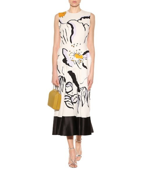 Roksanda - Camillo printed silk dress - mytheresa.com