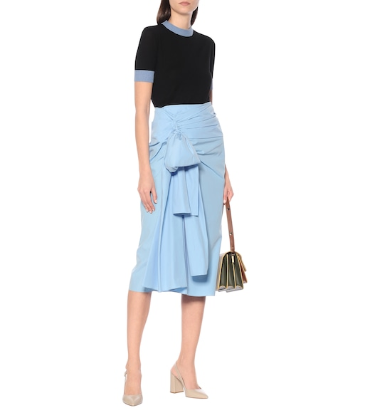 Marni - Cotton midi skirt - mytheresa.com
