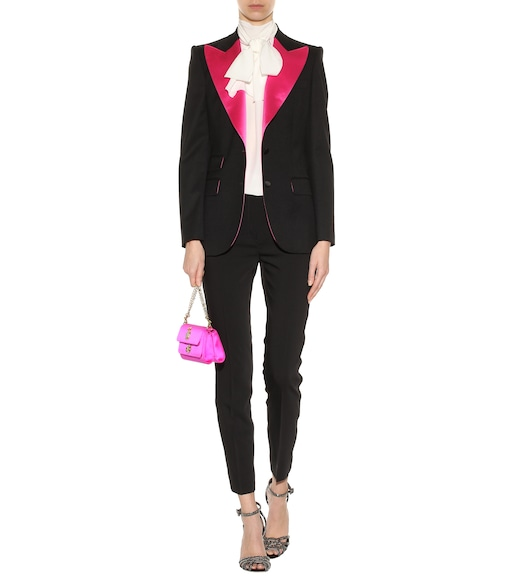 Dolce & Gabbana - Virgin wool and silk-blend jacket - mytheresa.com