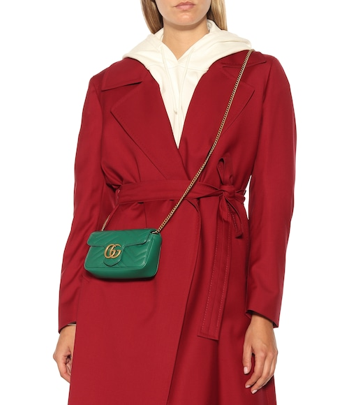 Gucci - GG Marmont Super Mini shoulder bag - mytheresa.com