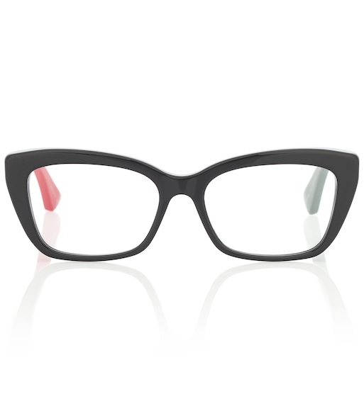 Gucci - Rectangular acetate glasses - mytheresa.com