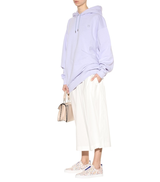 Acne Studios - Yala Face cotton hoodie - mytheresa.com