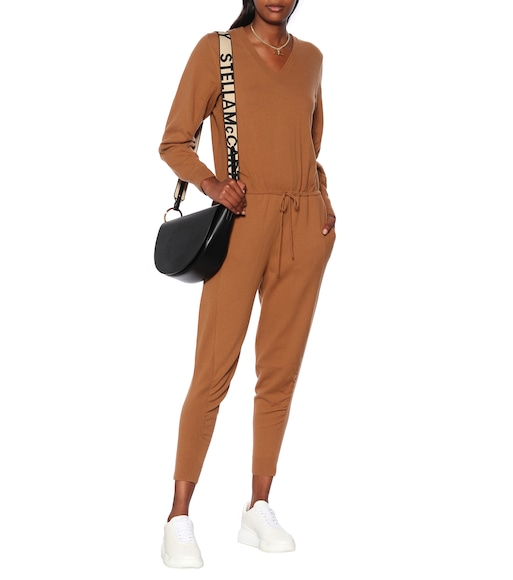 Stella McCartney - Virgin wool jumpsuit - mytheresa.com