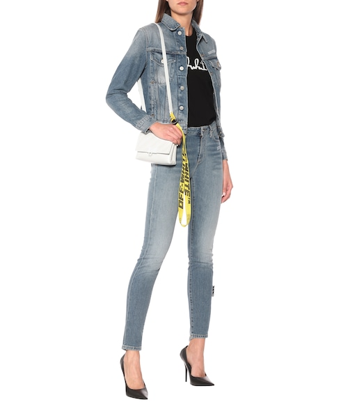 Off-White - Mid-rise skinny jeans - mytheresa.com