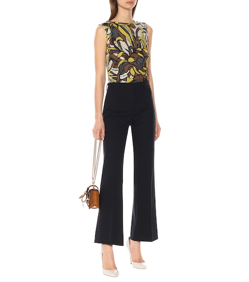S Max Mara - Lora floral cotton top - mytheresa.com