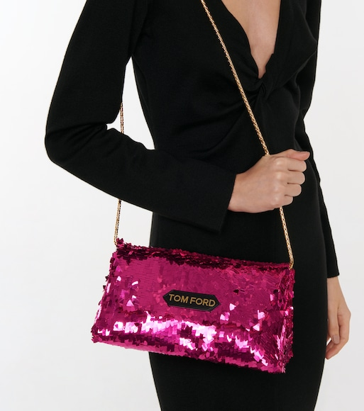 Tom Ford - Sequined shoulder bag - mytheresa.com