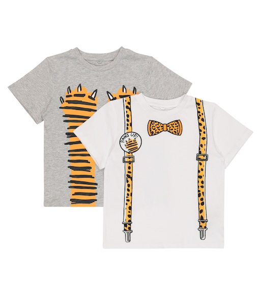 Stella McCartney Kids - Exclusive to Mytheresa – Set of 2 cotton T-shirts - mytheresa.com