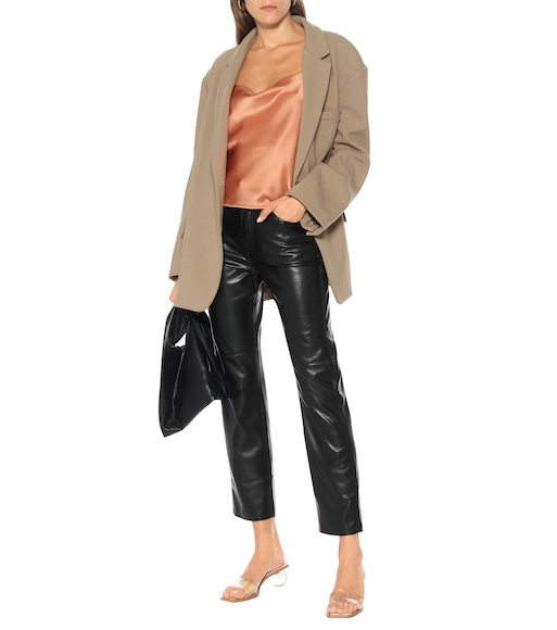 Nanushka - Vinni faux-leather pants - mytheresa.com