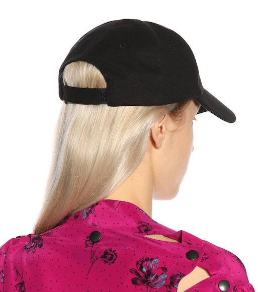 Balenciaga - Embroidered cotton baseball cap - mytheresa.com