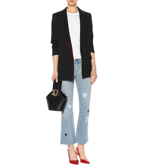 Stella McCartney - Star-printed flared jeans - mytheresa.com