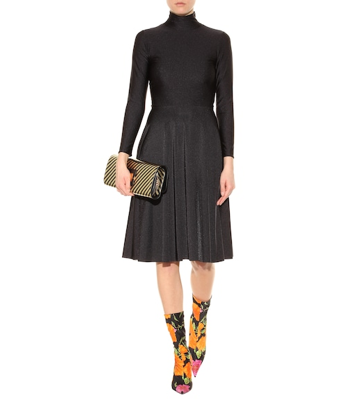 Balenciaga - Turtleneck dress - mytheresa.com