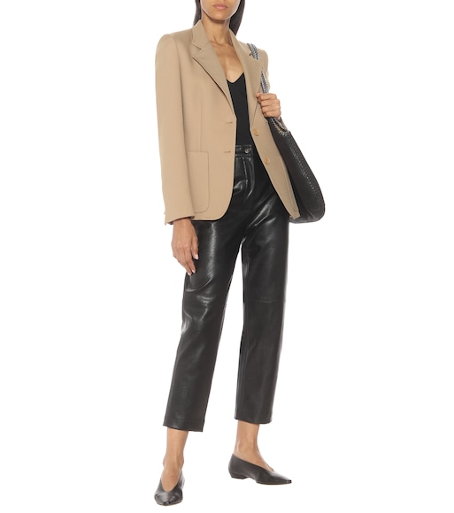 Stella McCartney - Eleanor single-breasted twill blazer - mytheresa.com
