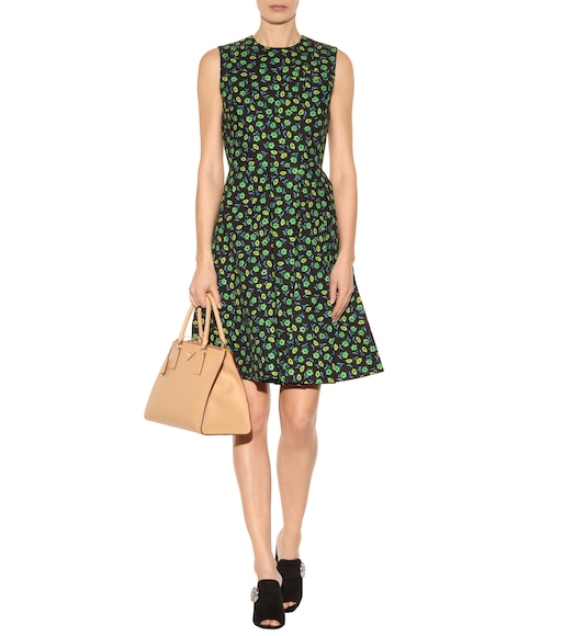 Prada - Cotton-blend dress - mytheresa.com