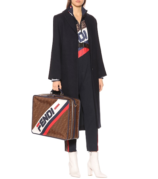 Fendi - FENDI MANIA printed travel bag - mytheresa.com