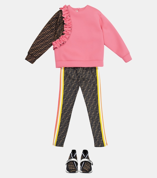 Fendi Kids - Sweatshirt FF - mytheresa.com