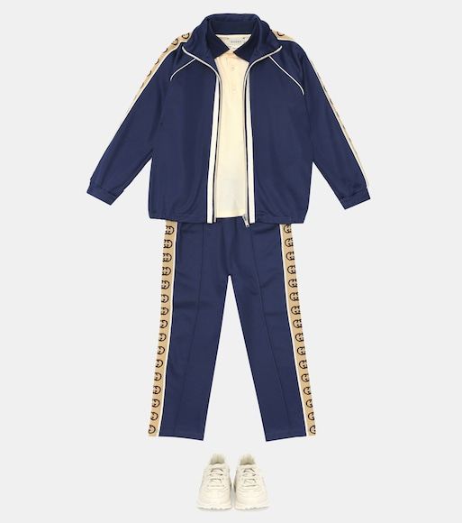 Gucci Kids - GG cotton-blend track jacket - mytheresa.com