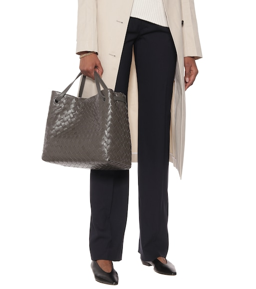 Bottega Veneta - Garda Large intrecciato leather tote - mytheresa.com