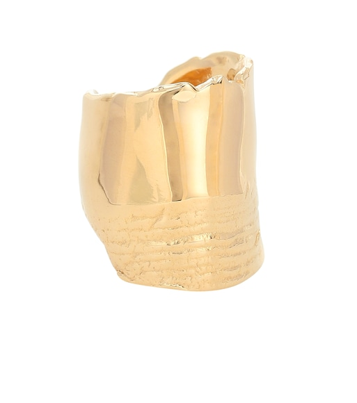 Bottega Veneta - 18kt gold-plated ring - mytheresa.com