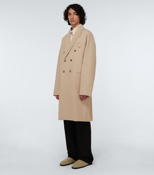Bottega Veneta - Stretch-linen canvas coat - mytheresa.com