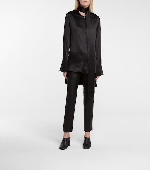 Joseph - Bars oversized silk blouse - mytheresa.com