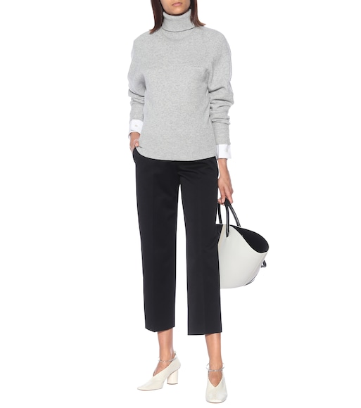 Jil Sander - Cotton-twill straight pants - mytheresa.com