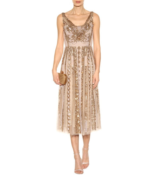 Valentino - Embellished dress - mytheresa.com