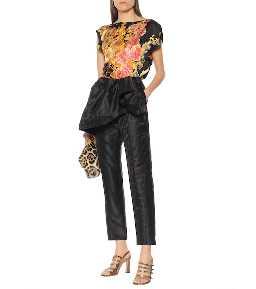 Dries Van Noten - Floral top - mytheresa.com