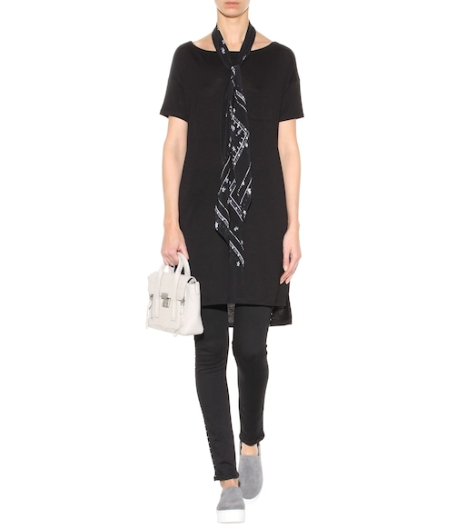 T by Alexander Wang - Jersey dress - mytheresa.com