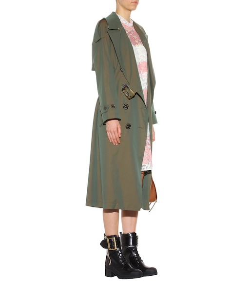Burberry - Foxriver cotton trench coat - mytheresa.com