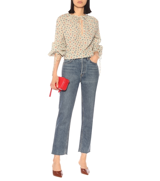 Polo Ralph Lauren - Floral cotton blouse - mytheresa.com