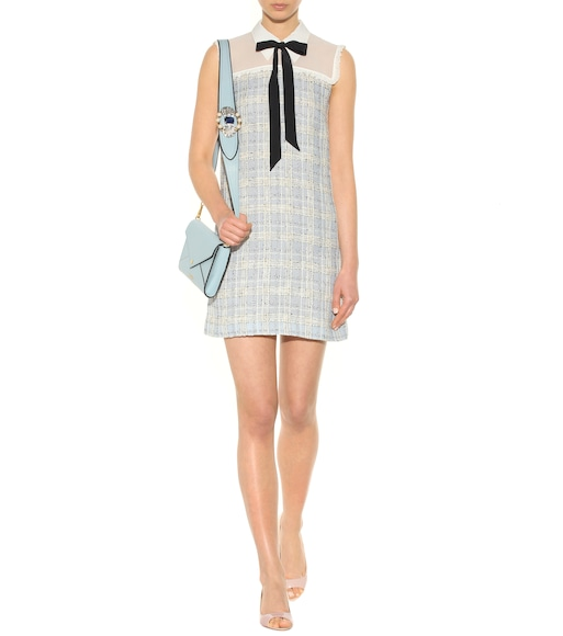 Miu Miu - Tweed mini dress - mytheresa.com