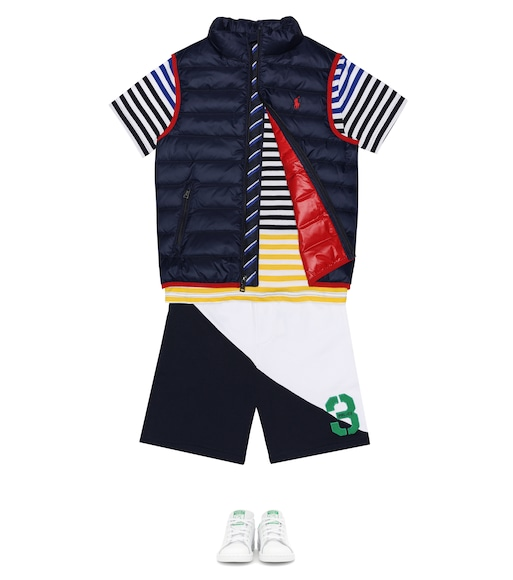 Polo Ralph Lauren Kids - T-shirt a righe in cotone - mytheresa.com