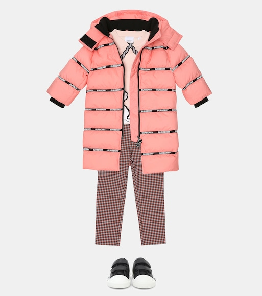 Burberry Kids - Quilted down coat - mytheresa.com