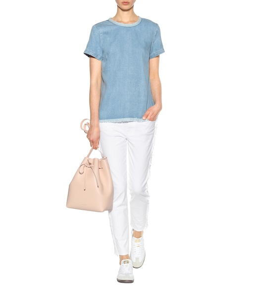7 For All Mankind - Flowing Denim top - mytheresa.com