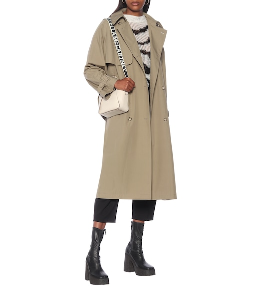 Stella McCartney - Alexa cotton trench coat - mytheresa.com