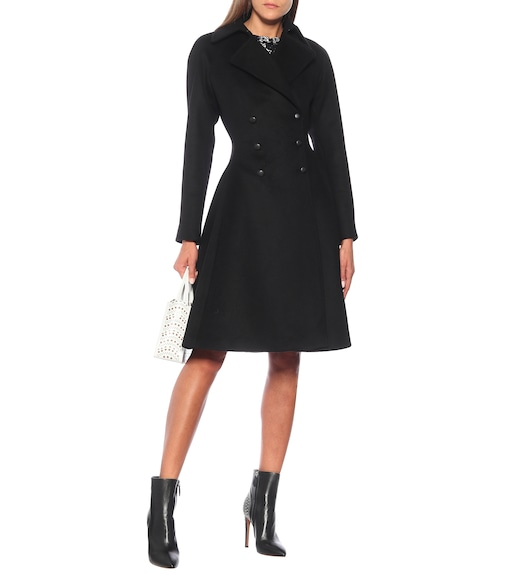 Alaïa - Double wool coat - mytheresa.com