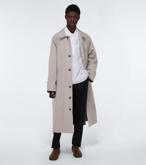 Maison Margiela - Cotton gabardine trench coat - mytheresa.com