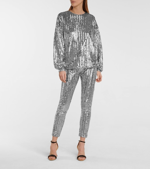 Isabel Marant - Olivia sequined top - mytheresa.com