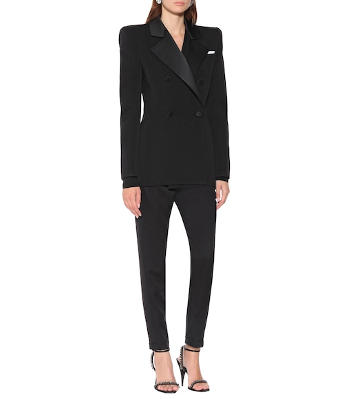 Saint Laurent - Wool blazer - mytheresa.com