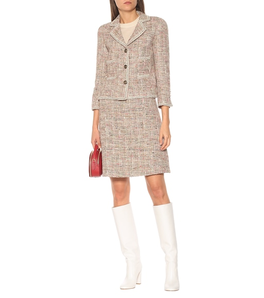Etro - Cotton-blend tweed blazer - mytheresa.com
